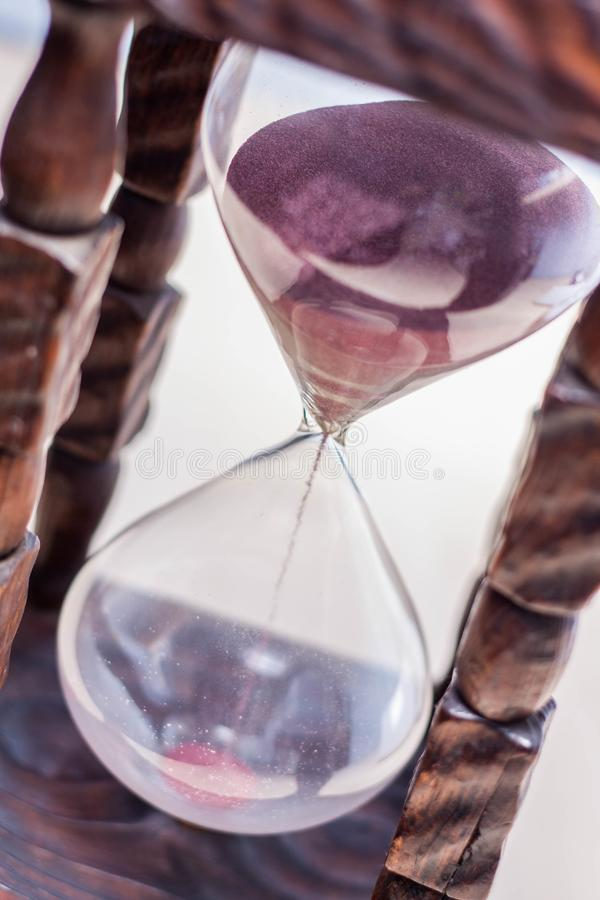 Time is running out fast stock images