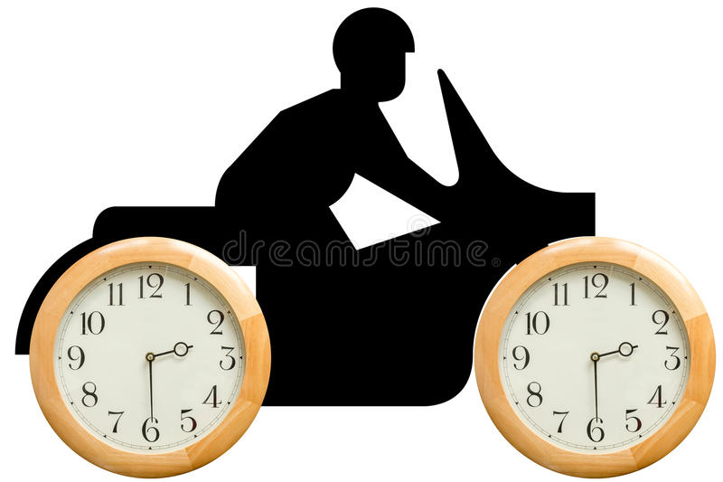 Time goes fast royalty free stock photo
