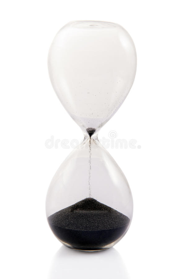 Time's Running Out stock photos