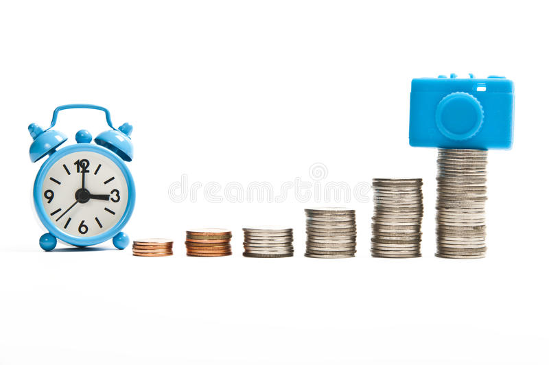 Download Time For Saving To Get New Compact Camera Stock Photo - Image: 25304558
