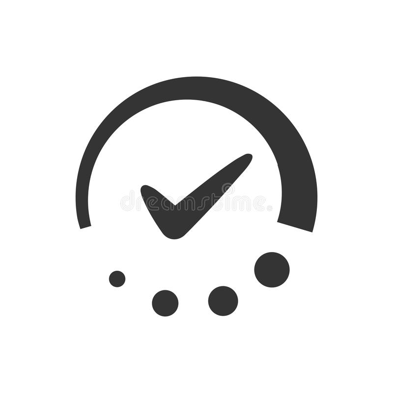 Time Schedule Icon. Beautiful Meticulously Designed Time Schedule Icon stock illustration
