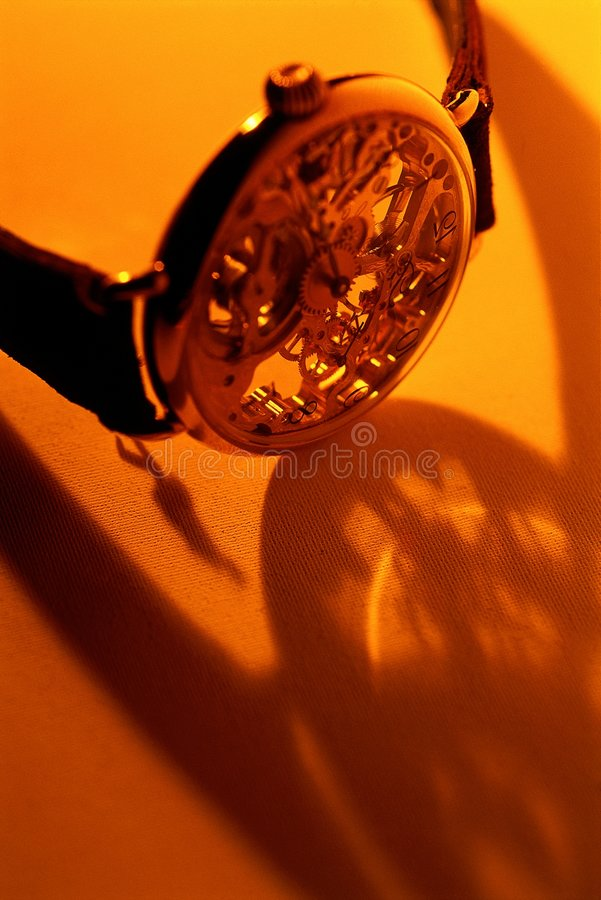 Time shadow royalty free stock photography