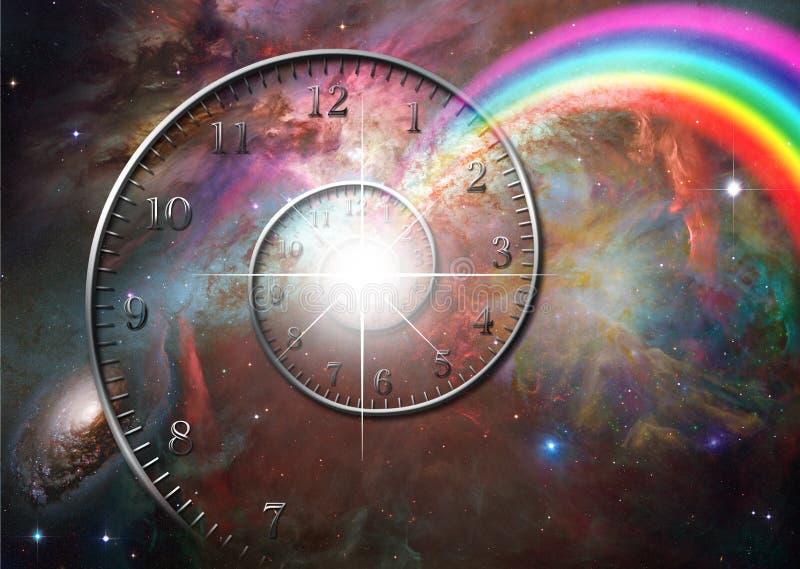 Download Time space stock illustration. Illustration of hour, digital - 23211930