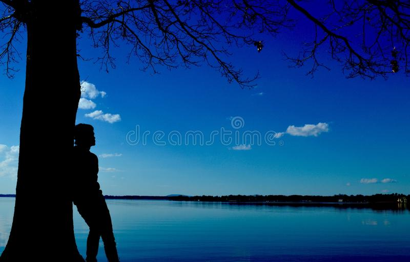 Time Spent Alone royalty free stock photos