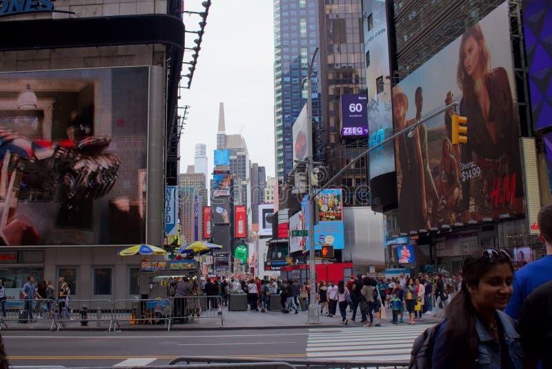 Time Square royalty-vrije stock afbeeldingen