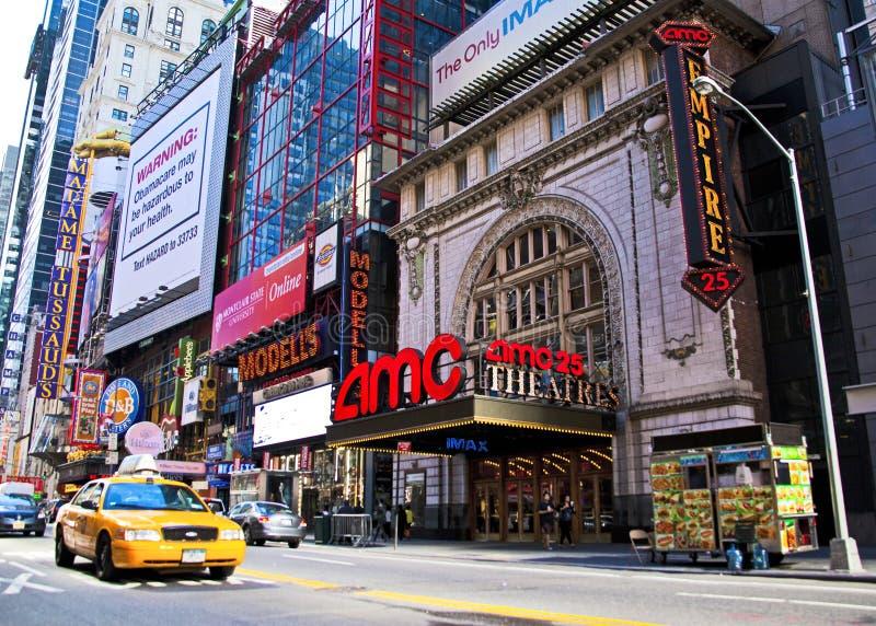 Time Square imagenes de archivo