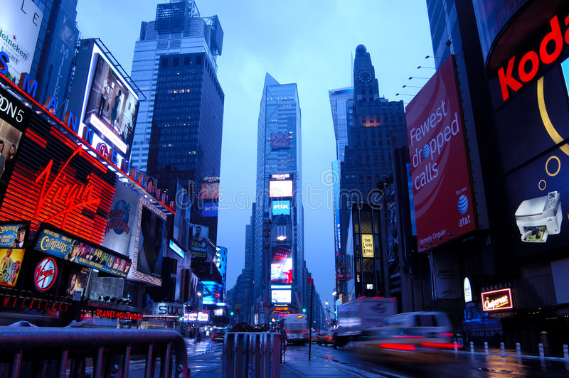 Download Time Square Editorial Stock Photo - Image: 4732448