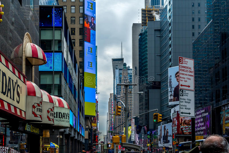 Time Square foto de archivo libre de regalías