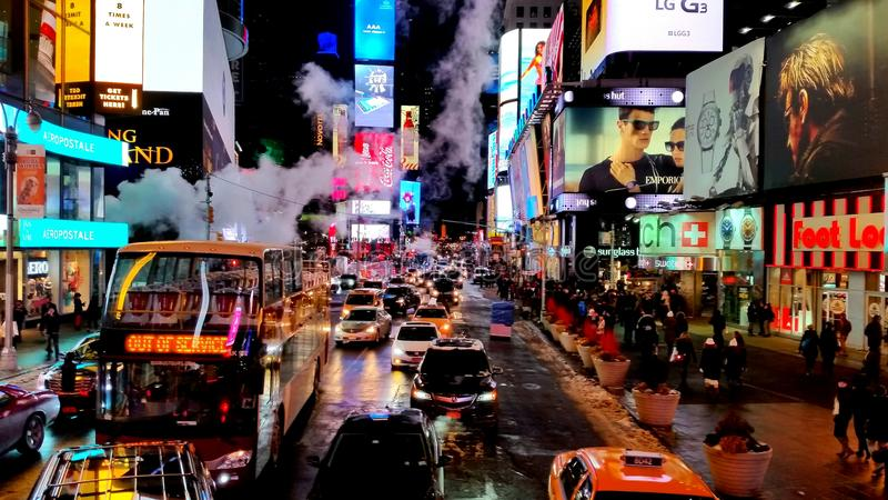 Time Square fotografia de stock royalty free