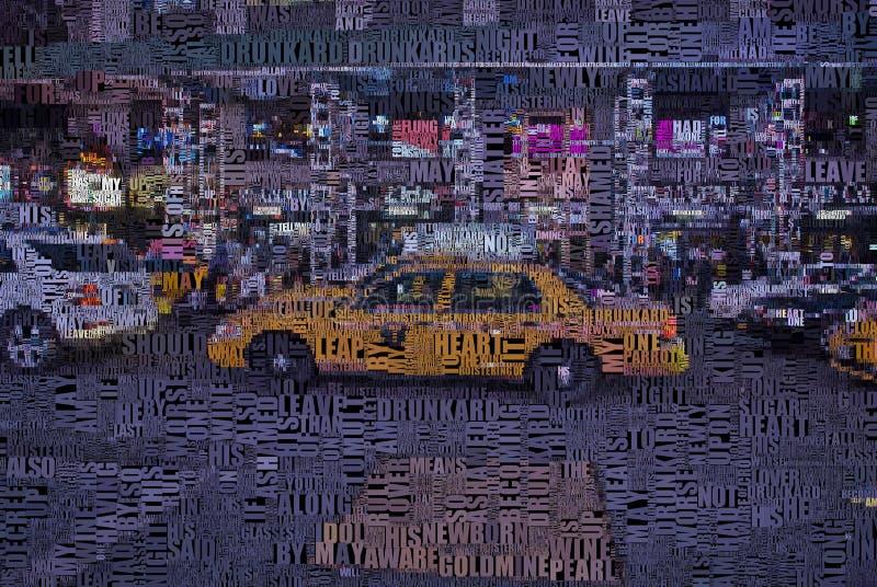 Time Square vektor abbildung