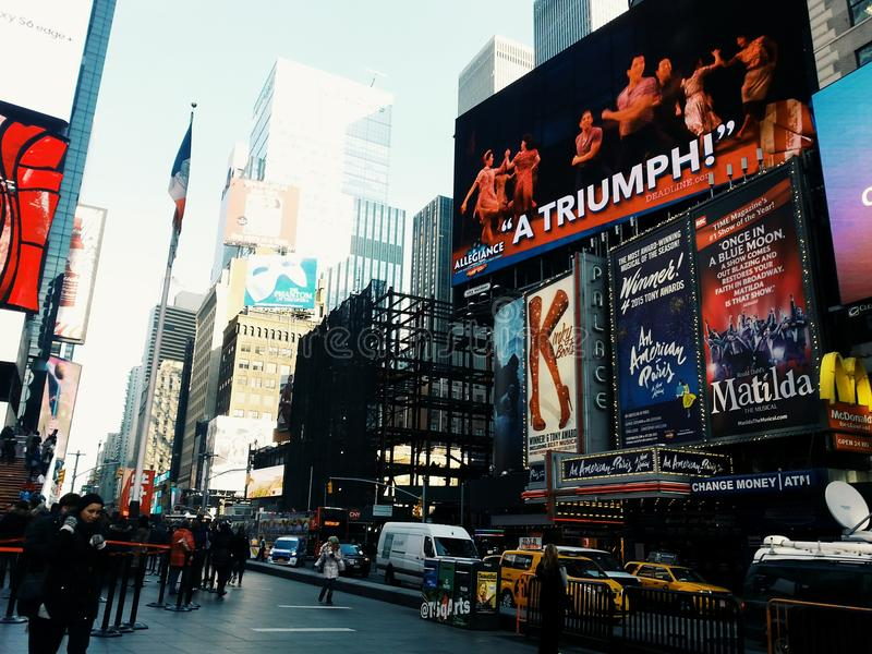 Time Square images libres de droits