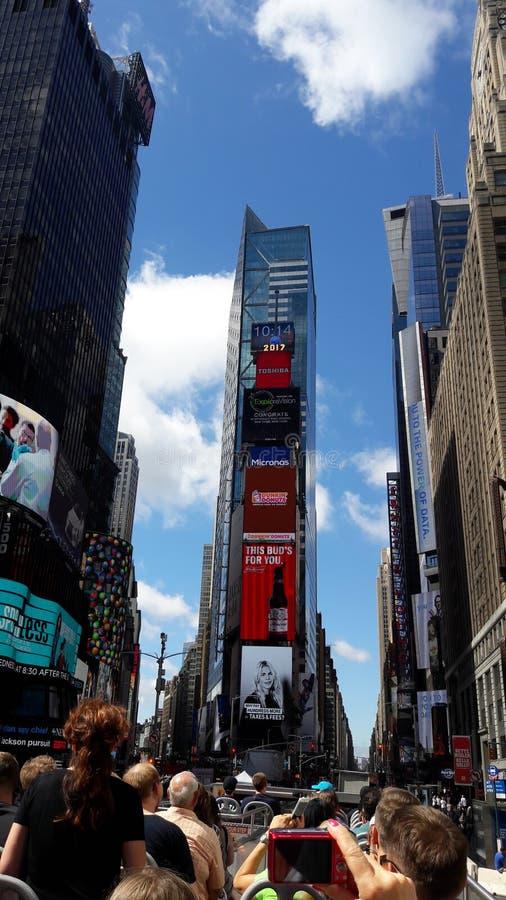 Time Square royaltyfri foto