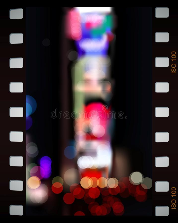 Download Time Square city lights stock illustration. Image of bright - 15994909