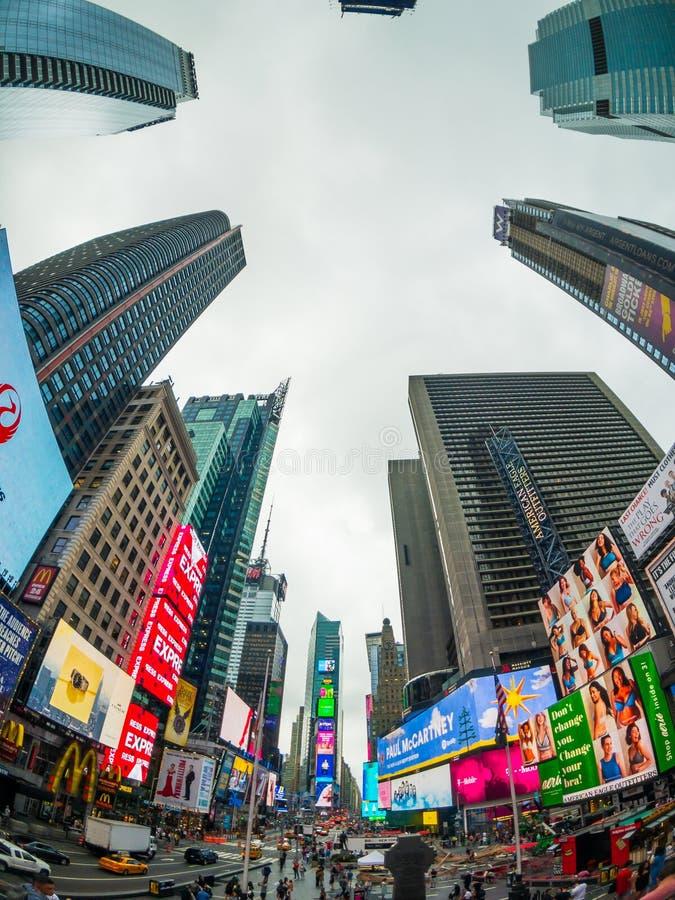 Time Square-cityscape van de dagtijd stock afbeelding