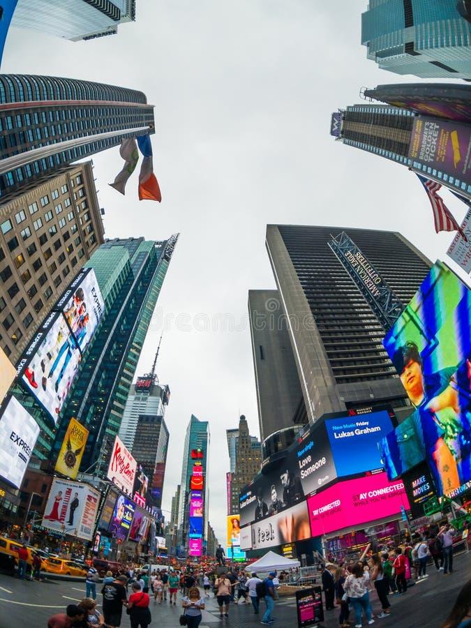 Time Square-cityscape van de dagtijd royalty-vrije stock afbeeldingen