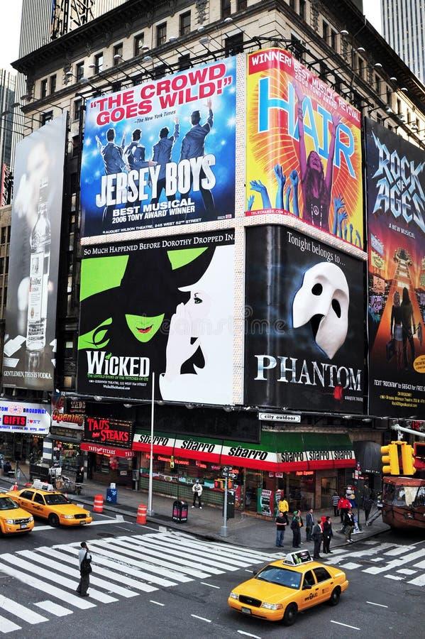 Time Square en Manhattan Nueva York foto de archivo