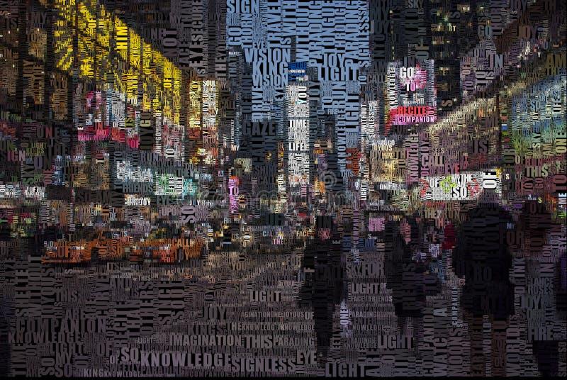 Time Square lizenzfreie abbildung