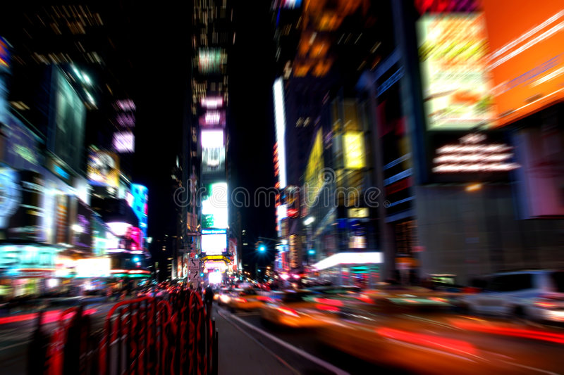 Time square at night. NY time square at night in New York City