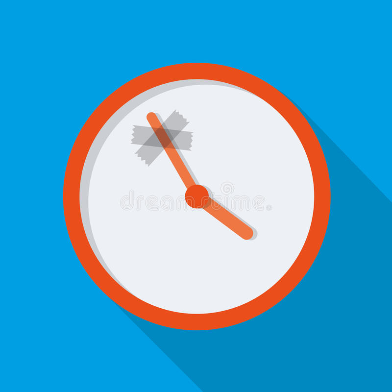 Time stop. Vector illustration design royalty free illustration