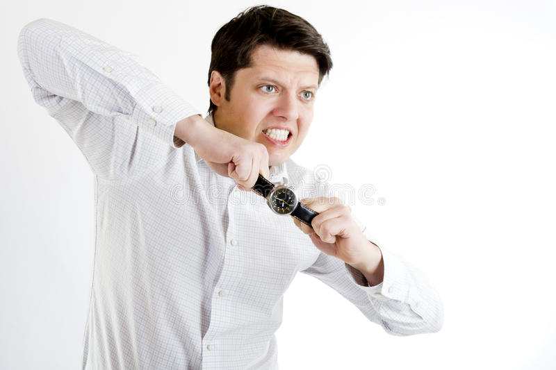 Download Time stretch stock image. Image of white, time, shirt - 18216843