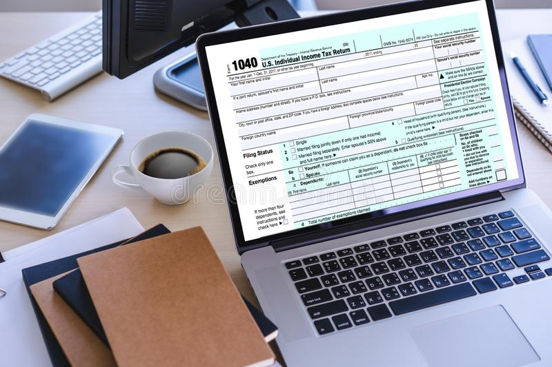Time for Taxes Planning Money Financial Accounting Taxation Businessman Tax Economy Refund Money stock photography