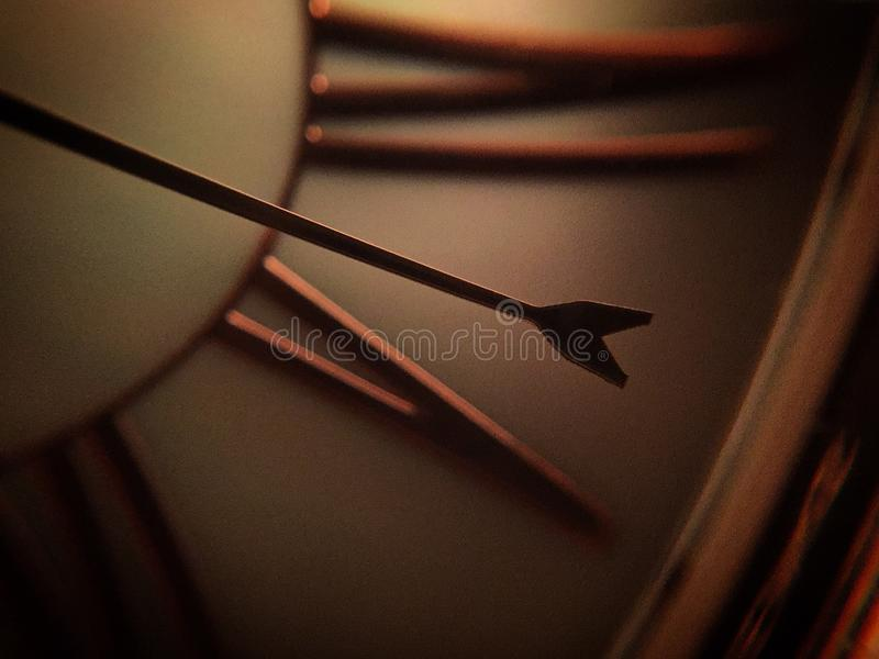 Time ticks by stock photo