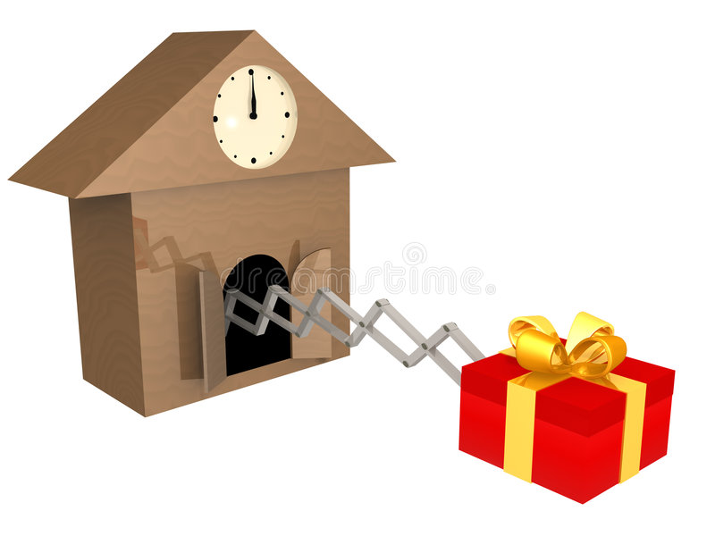 Download Time To Buy Presents stock illustration. Image of illustration - 3205737