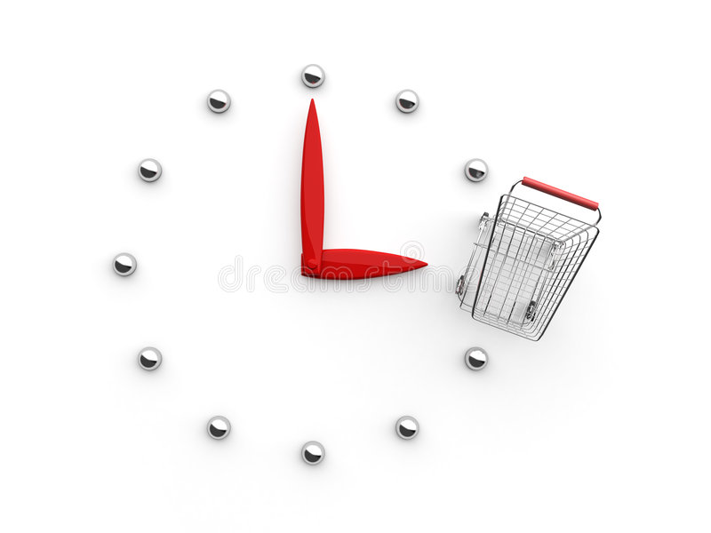 Time to Buy (Top) vector illustration