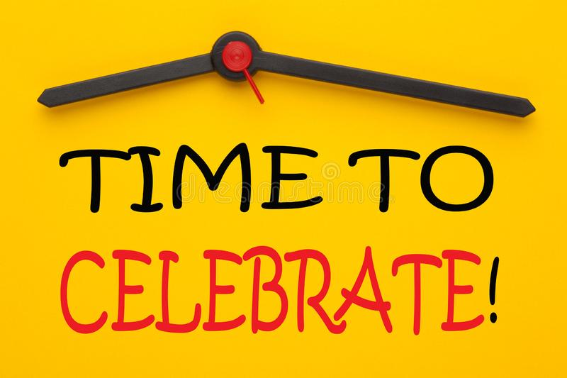 Time To Celebrate vector illustration