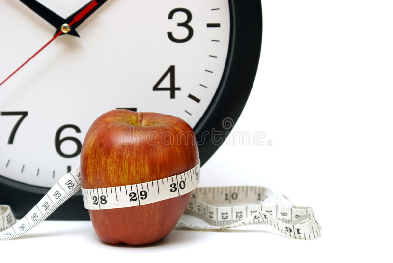 Download Time to Diet stock image. Image of clock, healthy, fresh - 28648545