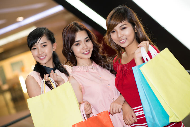 Download Time to do shopping stock image. Image of excited, female - 28055053