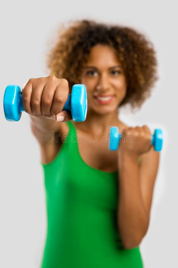 Time to get fit stock photos