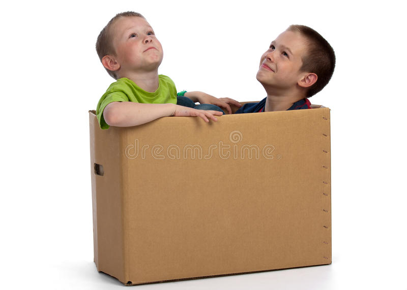 Time to move? royalty free stock photo