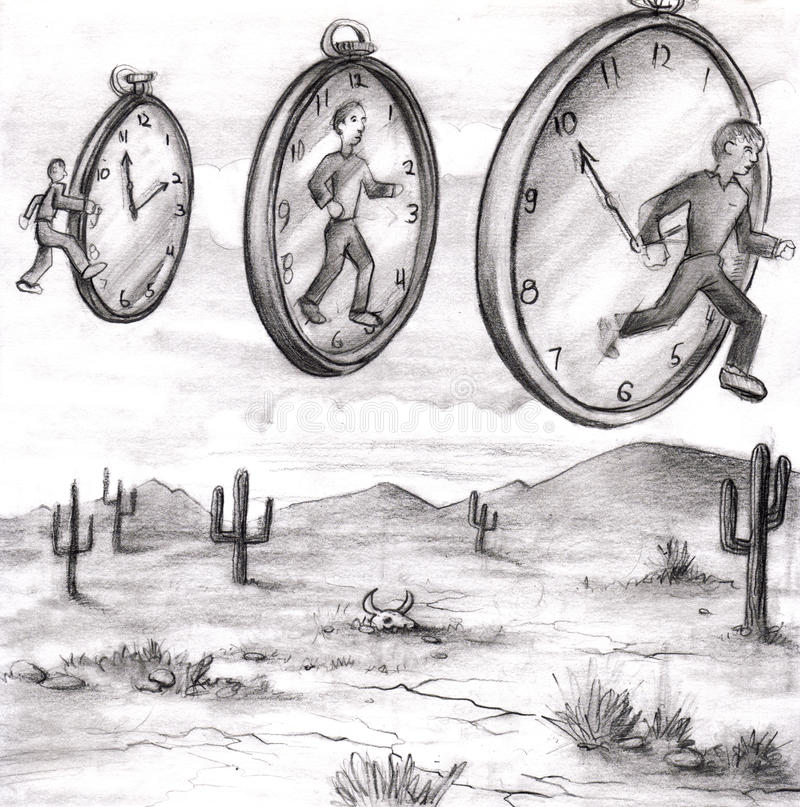 Download Time In to In Out of Time stock illustration. Illustration of delay - 13935946