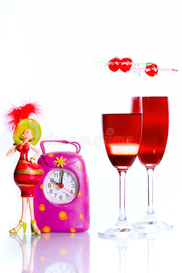 Time To Party Concept Stock Images