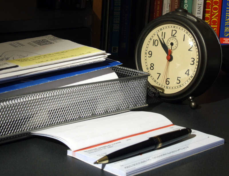 Download Time To Pay The Bills Royalty Free Stock Photo - Image: 2346045