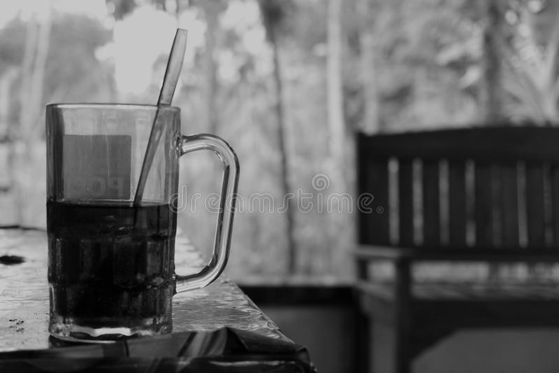 a glass of tea royalty free stock photos