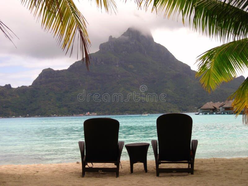 Island Bliss stock image