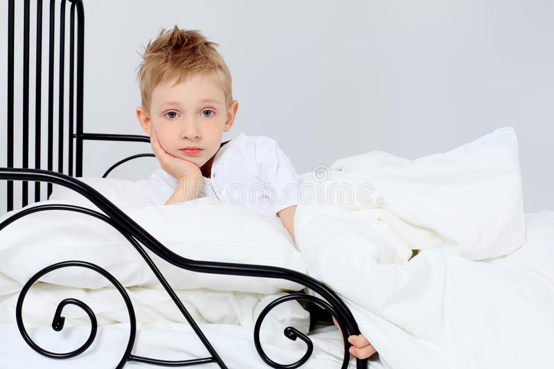 Time to sleep royalty free stock image