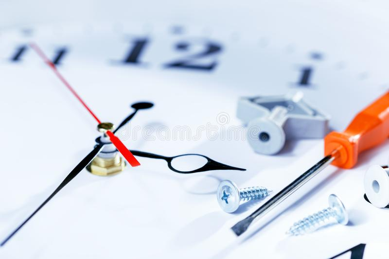 Time To Update, renovation. Repair concept stock images