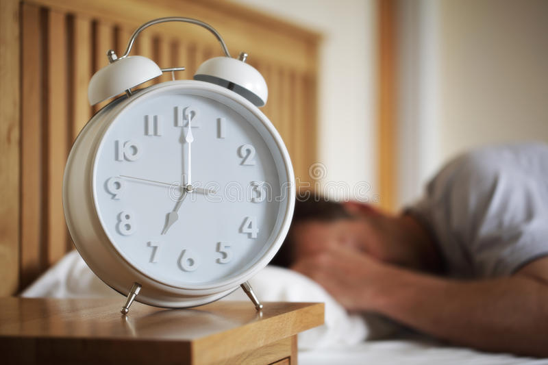 Time to wake up stock images