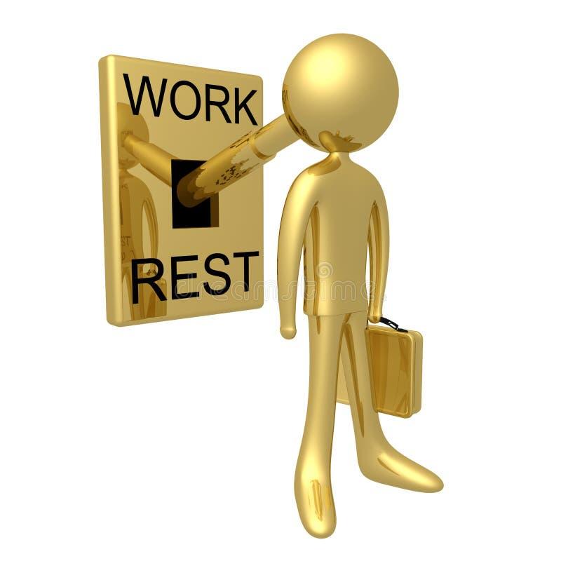 Download Time To Work stock illustration. Image of render, mechanism - 2539189