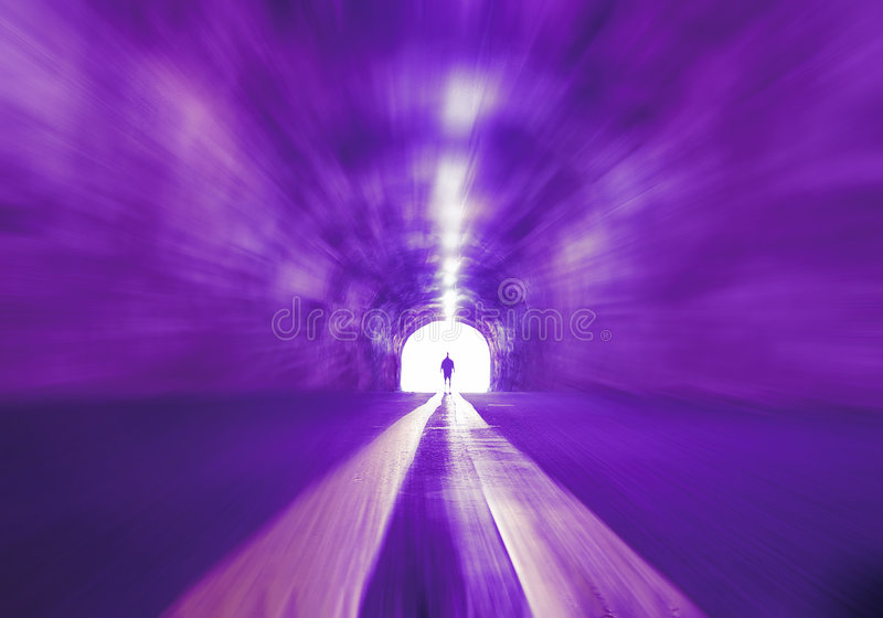 Download Time Tunnel stock illustration. Image of radiation, future - 2871185
