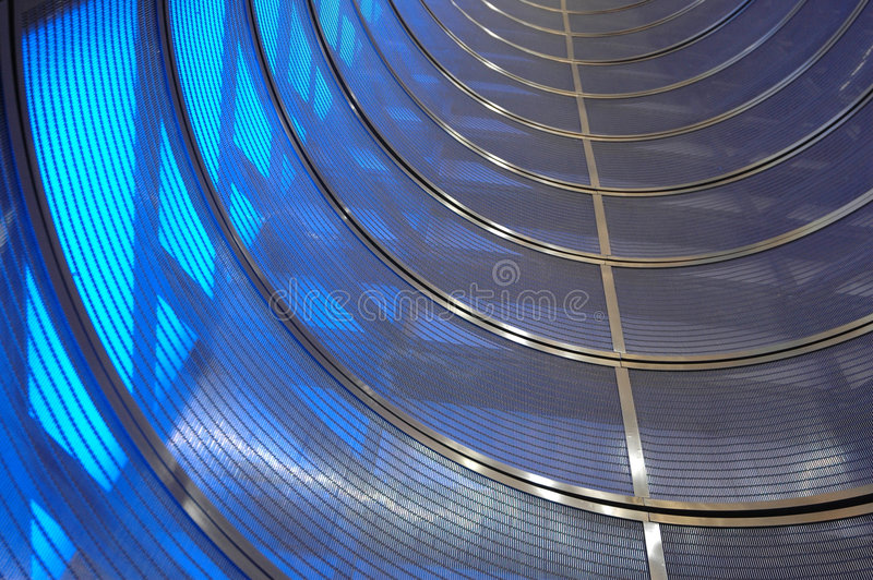 Time tunnel stock image