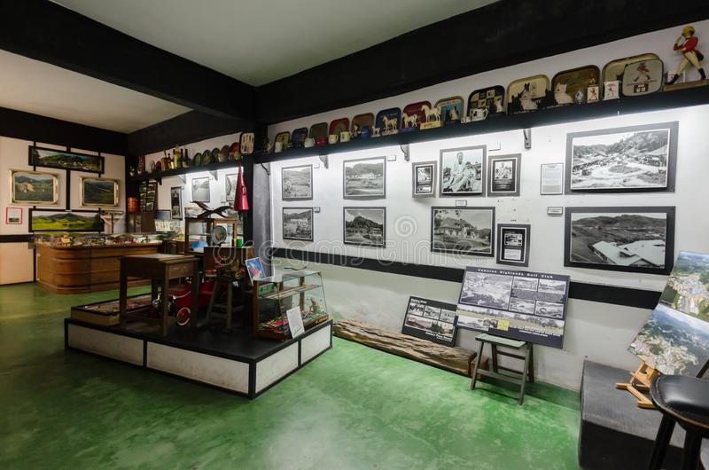 Time Tunnel is Malaysia's first memorabilia museum. Located in Brinchang. stock image