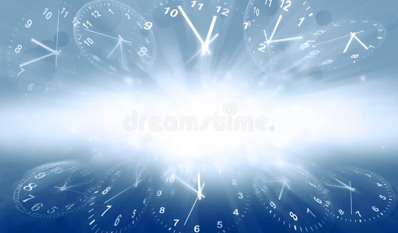 Time vinkar in stock illustrationer