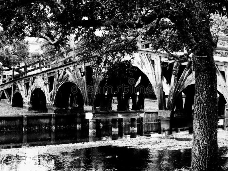 In Time voetbrug royalty-vrije stock foto