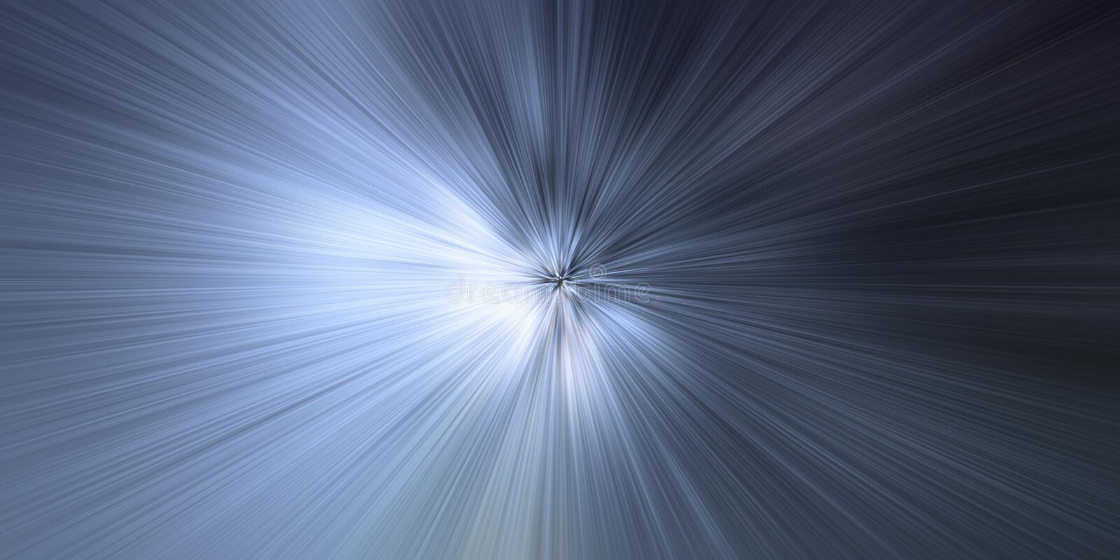 Time warp, light speed, time travel concept background vector illustration