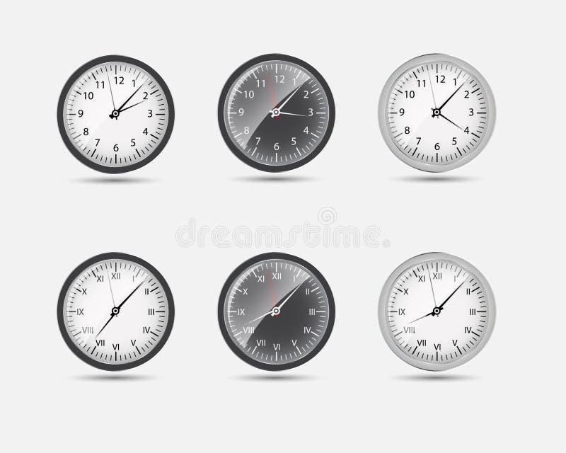 Time Zone World vector illustration vector illustration