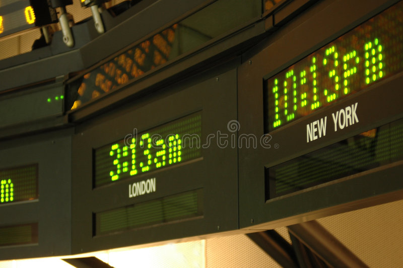 Time Zones royalty free stock photography
